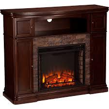 southern enterprises sei hillcrest faux stone electric media fireplace