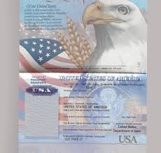 Us Passport Template Psd Editable Usa Passport