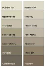 Benjamin Moore Favorite Taupes We are painting the stucco winds breath and  the trim Indian River. Exterior House Paint ColorsBeige ...