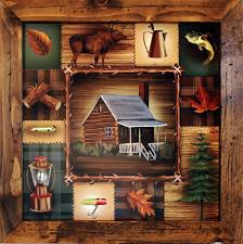 luxury idea cabin wall art small home decor inspiration custom wood carving this in the woods
