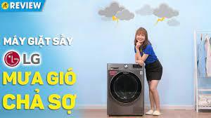 Máy giặt sấy LG Inverter: Giặt sấy tiện lợi, giặt nhanh TurboWash 360  (FV1450H2B) • Điện máy XANH - YouTube