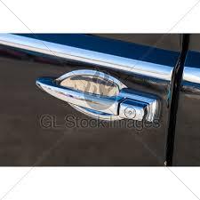 Vintage Car Door Handle GL Stock Images