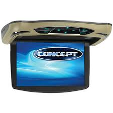 amazon com concept cfd 135 13 3 inch ceiling mount monitor dvd image unavailable