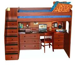 loft bed with trundle and desk desk bunk bed with desk drawers and trundle wood loft
