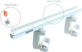 how to install track lighting. Track Lighting Kits Plug In How To Install On Vaulted Ceiling Concrete Movable Kit . A