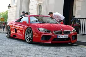 BMW 5 Series bmw m1 rear : Same boring BMW front end with a Ferrari rear and I am sure it has ...