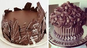 Simple Chocolate Cake Decoration Ideas Also Round Chocolate Cake