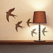 swallow stencil reusable bird stencil