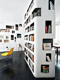Home Library Inspiration  Built-in Bookcases With Creative Designs