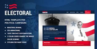 Electoral Political Non Profit Html Template