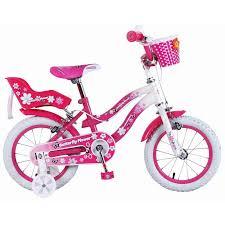 Super Max Pink Butterfly Flower 14 Inch Girls Bike - Grace Baby |