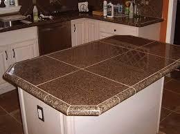 diy tile kitchen countertops: image of granite tile countertops kitchen ideas