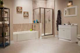 Home Restyling Bathtub Shower Replacement Cedar Bathroom Tub In ...