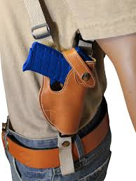 holsters new barsony tan leather shoulder holster for smith wesson small 380 ultra comp hunting