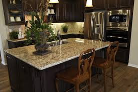 Superior L Shaped Kitchen With Island Cooktop