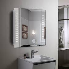 Mirror Cabinet 60 LED Light Illuminated Mirror Bathroom Mirror