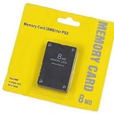 Ps2 8mb memory card for sony playstation 2 - hitechgamez.in