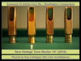 Otto Link Mouthpiece Chart