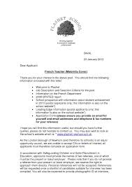 French Cover Letter Letter Writing Sample In French Cover Letter And