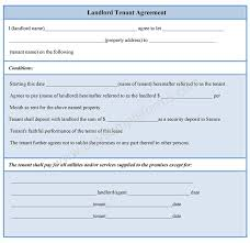 Sample Tenancy Agreement Tenant Landlord Contract Templates] 24 Images Appealing Blank 7