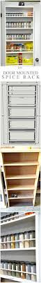 Spice Rack Ideas Best 25 Door Mounted Spice Rack Ideas On Pinterest Spice Rack