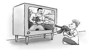 violence on television research papers on tv s effects on children violence on television