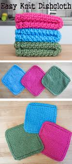 Easy Knit Dishcloth Pattern Custom Easy Knit Dishcloth Washcloth 48 Steps With Pictures