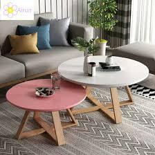 modern creative design wooden round