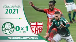PALMEIRAS 0 (3) X (4) 1 CRB | MELHORES MOMENTOS | 3ª FASE COPA DO BRASIL  2021