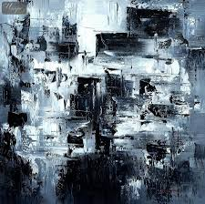 abstract painting black and white recherche google