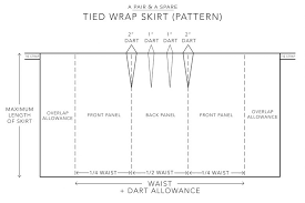 Wrap Skirt Pattern Extraordinary DIY Linen Wrap Mini Skirt A Pair A Spare