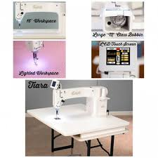 Babylock Quilting Machines & Home quilters interested in finishing projects with polish will love the  compact Tiara III quilting machine. This smooth operating machine sews up  to 1,800 ... Adamdwight.com