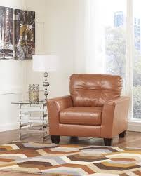 Orange Living Room Chairs Paulie Orange Cuddler Chair By Ashley Furniture