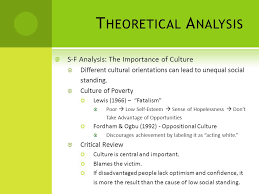 race ethnicity jennifer l fackler m a ppt video online  theoretical analysis s f analysis the importance of culture