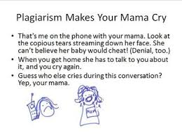 plagiarism makes your mama cry by no fluff english teacher tpt