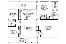 country style house plan 3 beds 200 baths 1492 sqft plan 406 132
