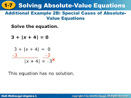 additional example 2b special cases of absolute value equations
