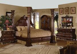 Bedroom Design: Luxurious California King Canopy Bedroom Sets And ...
