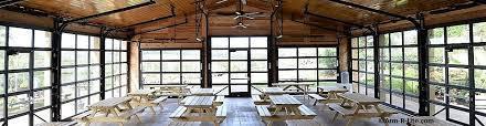 glass roll up doors merge your indoor