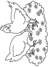 Animaux Dessin Imprimer Prefix Coq Qui Chante Coloriage X Dessiner