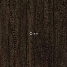 Origin Behang Houtmotief Donkerbruin 347527