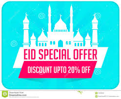 eid special offer flyer stock illustration image  eid special offer flyer