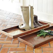 Decorative Boot Tray Our Entryway Boot Tray will help to keep your floors free of mud 4