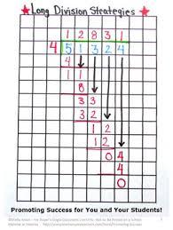 Free Long Division Graph Paper Long Division Strategies 4th 5th Grade Math