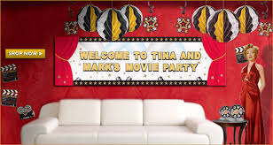 hollywood theme party hollywood decorations hollywood tableware