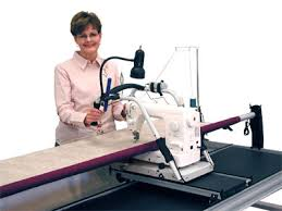 The Pinnacle Quilting Frame Grace No-Baste Alluminum Frame ... & Longarm quilting Adamdwight.com