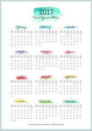 yearly calendar 2017 template 2017 free printable year calendar blank calendar design 2018