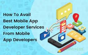 App Developer And Designer Avail The Best Mobile App Services From Mobile App Developer