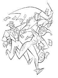 Batman Joker E Harley Quinn Da Colorare Disegni Da Colorare E