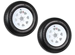 F78 14 Conversion Chart 2 Pk Trailer Tire On Rim St205 75d15 F78 205 75 Lrc 5 Lug White Spoke Wheel Walmart Com